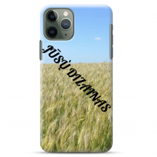 Iphone 11 Pro Max Tpu Dėklas Nugarėlė Su Jūsų Dizainu. Dėklas Gaminamas Su Jūsų Pateikta Nuotrauka