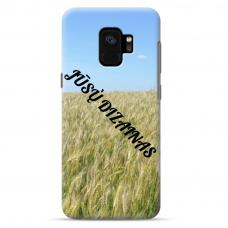 Samsung Galaxy S9 Tpu Dėklas Nugarėlė Su Jūsų Dizainu. Dėklas Gaminamas Su Jūsų Pateikta Nuotrauka