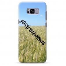 Samsung Galaxy S8 Plus Tpu Dėklas Nugarėlė Su Jūsų Dizainu. Dėklas Gaminamas Su Jūsų Pateikta Nuotrauka