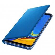 ORIGINALUS DĖKLAS Samsung Wallet Cover Samsung Galaxy A9 2018 mėlynas (EF-WA920PLEGWW)  UCS035