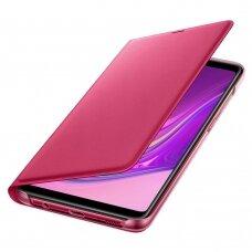 ORIGINALUS DĖKLAS Samsung Wallet Cover Samsung Galaxy A9 2018 rožinis (EF-WA920PPEGWW) (ctz220) UCS035