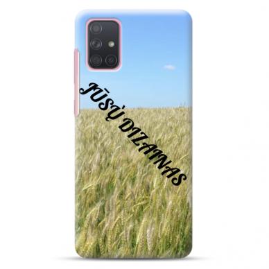 Samsung Galaxy A51 TPU dėklas nugarėlė su jūsų dizainu. Dėklas gaminamas su jūsų pateikta nuotrauka