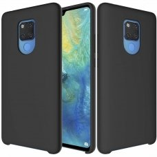 "SILIKONINIS LANKSTUS DĖKLAS ""FLEXIBLE RUBBER COVER"" HUAWEI MATE 20 JUODAS ML28"
