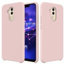 """Silikoninis Lankstus Dėklas """"Flexible Rubber Cover"""" Huawei Mate 20 Lite Rožinis"""