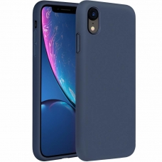 "Silikoninis Lankstus Dėklas ""Flexible Rubber Cover"" Iphone Xr Dark Mėlynas"