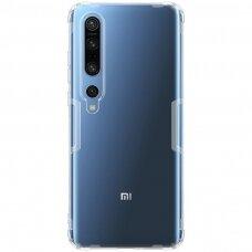 """SKAIDRUS TPU DĖKLAS 0.6 MM """"NILLKIN NATURE TPU"""" Xiaomi Mi 10 Pro / Xiaomi Mi 10 skaidrus"""