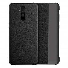 Atverčiamas Dėklas Sleep Case Su Išmaniuoju Langu Huawei Mate 20 Lite Juodas