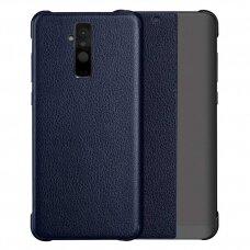 Atverčiamas dėklas Sleep case su išmaniuoju langu Huawei Mate 20 Lite mėlynas (ctz012) UCS081