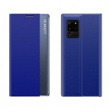 Sleep Case Atverčiamas Dėklas Samsung Galaxy Note 20 Mėlynas