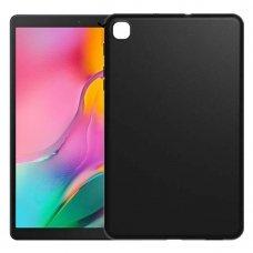 """Plonas Silikoninis Dėklas Nugarėlė """"Slim Case Ultra"""" Huawei Mediapad M5 Lite Juodas (Awe38)"""