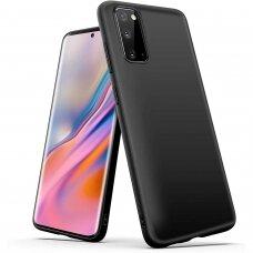 Dėklas Soft Case TPU gel protective case Samsung Galaxy S20 FE 5G Juodas