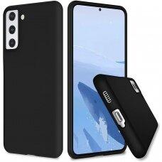 Dėklas Soft Case TPU gel protective case Samsung Galaxy S21+ 5G (S21 Plus 5G) Juodas