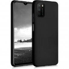 Dėklas Soft Case TPU gel protective case Xiaomi Redmi Note 10 / Redmi Note 10S Juodas