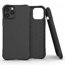 Soft Color Case Lankstus Gelinis Dėklas Iphone 11 Pro Max Juodas