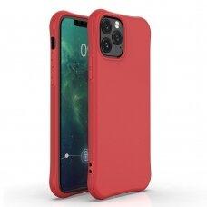 Silikoninis dėklas Soft Color Iphone 11 Pro Max Raudonas