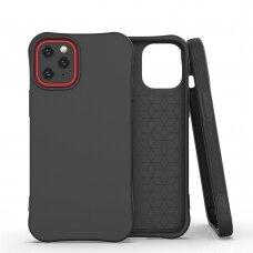 Silikoninis dėklas Soft Color Iphone 12 Mini Juodas