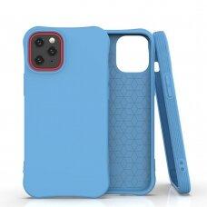Soft Color Case Lankstus Gelinis Dėklas Iphone 12 Pro / Iphone 12 Mėlynas