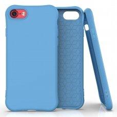 Silikoninis dėklas Soft Color Iphone Se 2020 / Iphone 8 / Iphone 7 Mėlynas