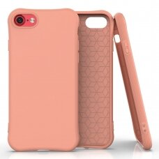 Silikoninis dėklas Soft Color Iphone Se 2020 / Iphone 8 / Iphone 7 Oranžinis