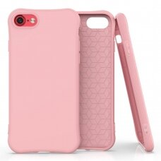 Silikoninis dėklas Soft Color Iphone Se 2020 / Iphone 8 / Iphone 7 Pink
