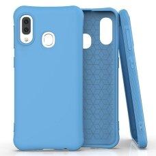 Soft Color Case lankstus gelinis dėklas Samsung Galaxy A20e mėlynas UCS033