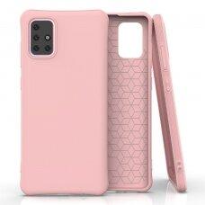 Gelinis Dėklas Soft Color Flexible skirta Samsung Galaxy M31S Rožinis