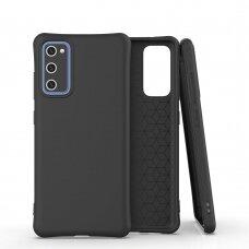Dėklas Soft Color silikonas Samsung Galaxy S20 Fe 5G Juodas