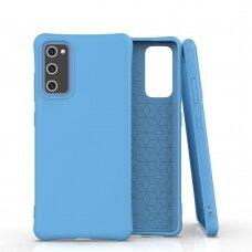 Dėklas Soft Color silikonas Samsung Galaxy S20 Fe 5G Mėlynas