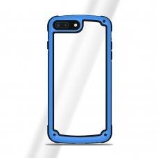 """Plastikinis Dėklas Tpu Kraštais """"Solid Frame"""" Huawei Mate 20 Lite Mėlynas"""