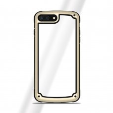 """Plastikinis Dėklas Tpu Kraštais """"Solid Frame"""" Huawei Mate 20 Lite Auksinis"""