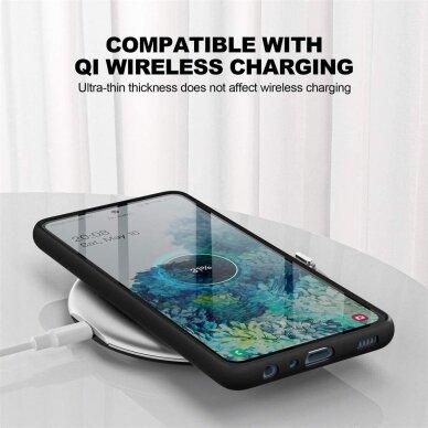 Dėklas Soft Case TPU gel protective case Samsung Galaxy A51 Juodas 2