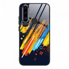 Spalvotas Apsauginis Dėklas Color Glass Huawei P30 Lite Pattern 5