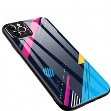 Spalvotas Apsauginis Dėklas Color Glass Iphone 8 Plus / Iphone 7 Plus Pattern 4
