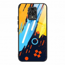 Spalvotas Apsauginis Dėklas Color Glass Xiaomi Redmi Note 9 Pro / Redmi Note 9S Pattern 1