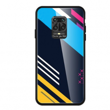 Spalvotas Apsauginis Dėklas Color Glass Xiaomi Redmi Note 9 Pro / Redmi Note 9S Pattern 2