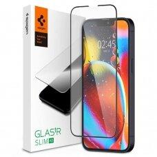Spigen Glass TR Slim FC tempered glass iPhone 13 mini juodais kraštais