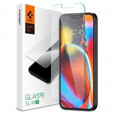 Spigen Glass TR Slim apsauginis stiklas iPhone 13 mini skaidrus