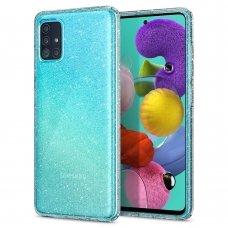 Aukštos kokybės Dėklas Spigen Liquid Crystal Galaxy A51 Glitter Crystal Quartz (lop20)
