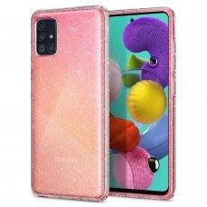 Aukštos kokybės Dėklas Spigen Liquid Crystal Galaxy A71 Glitter Crystal (qoe97)