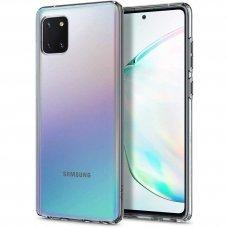 Aukštos kokybės Dėklas Spigen Liquid Crystal Galaxy Note 10 Lite Crystal Clear (atm58)