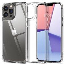 Dėklas Spigen Quartz iPhone 13 Pro permatomas