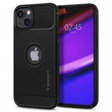 Dėklas Spigen Rugged Armor iPhone 13 juodas