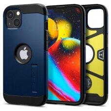 Dėklas Spigen Tough Armor iPhone 13 mini tamsiai mėlynas