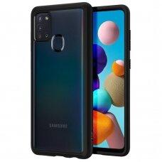 Spigen Ultra Hybrid aukštos kokybės dėklas Galaxy A21s matinis juodas