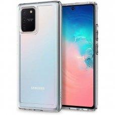 Aukštos kokybės Dėklas Spigen Ultra Hybrid Galaxy S10 Lite Clear (apz39)