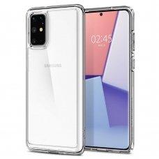 Aukštos kokybės Dėklas Spigen Ultra Hybrid Galaxy S20+ Plus Crystal Clear (nqt31)
