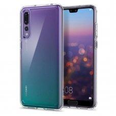 Aukštos Kokybės Dėklas Spigen Ultra Hybrid Huawei P20 Pro Crystal Clear