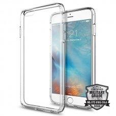 Aukštos Kokybės Dėklas Spigen Ultra Hybrid Iphone 6/6S Plus (5.5) Crystal Clear