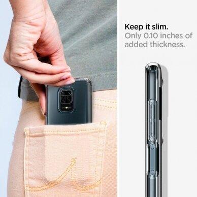 Spigen Liquid Crystal Xiaomi Redmi Note 9s/9 Pro/9 Pro Max Crystal Clear 10