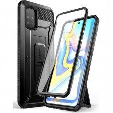 Dvipusis dėklas Supcase Unicorn Beetle Pro Aukštos Kokybės Dėklas Samsung Galaxy A71 Juodas
